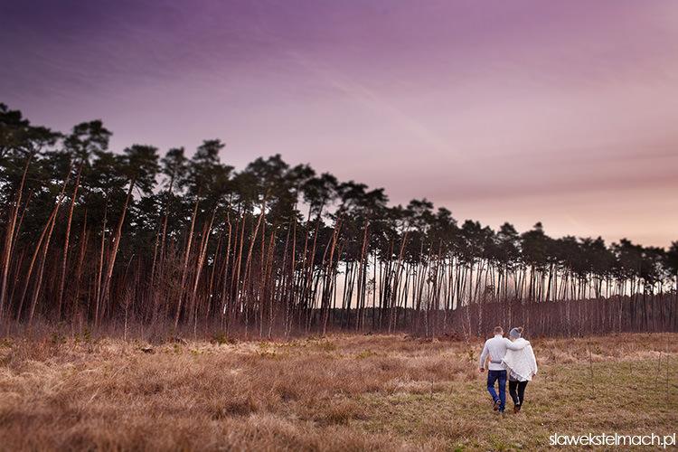 sesja w lesie tarnów