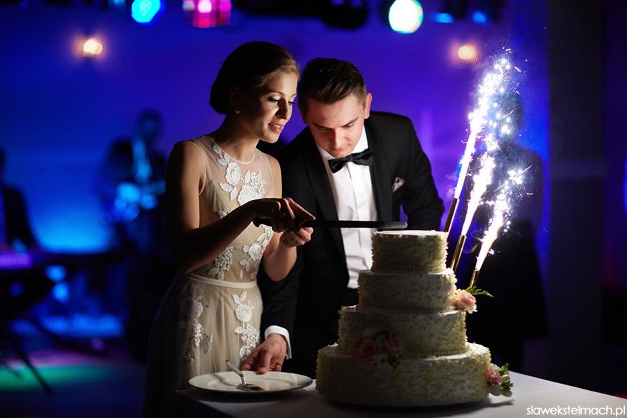 jodłowy dwór tort weselny