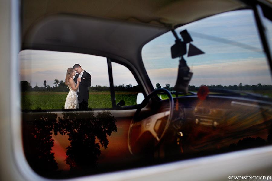 fajne auto na ślub sławek stelmach