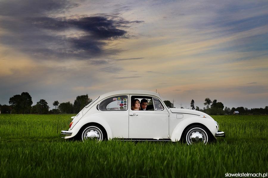 garbus na ślub fotograf ślubny