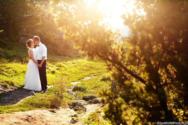 Plener ślubny Lanckorona