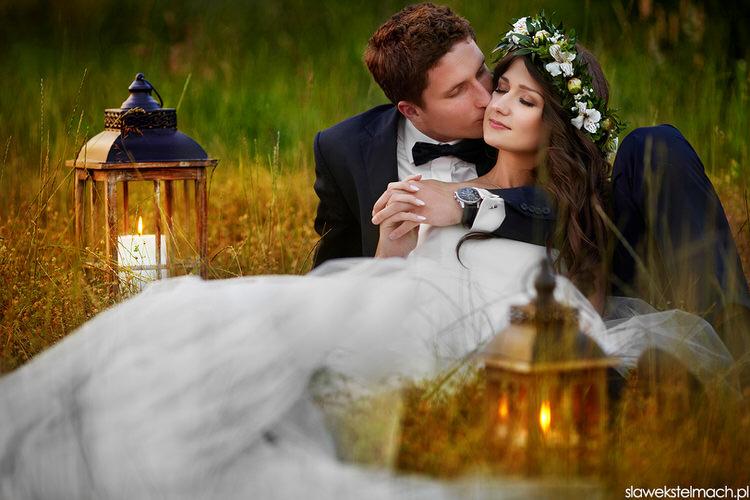 magiczna sesja ślubna ciężkowice