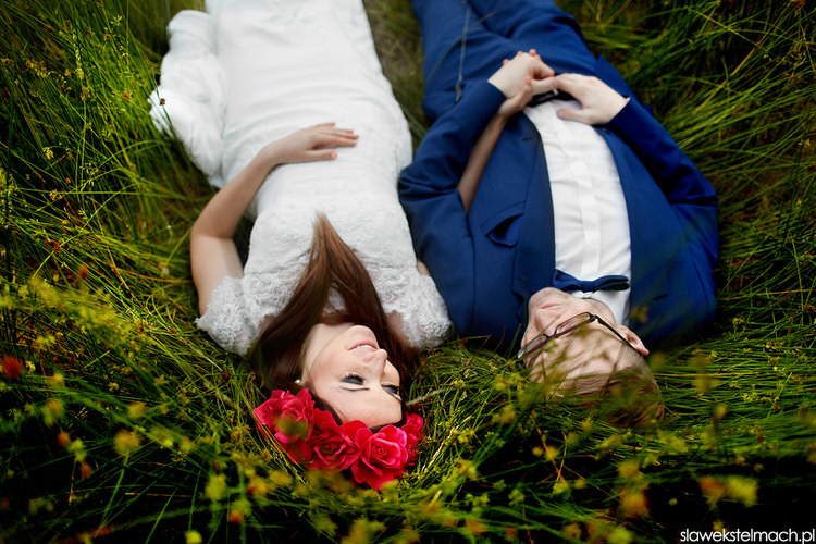 Sesja ślubna bistuszowa