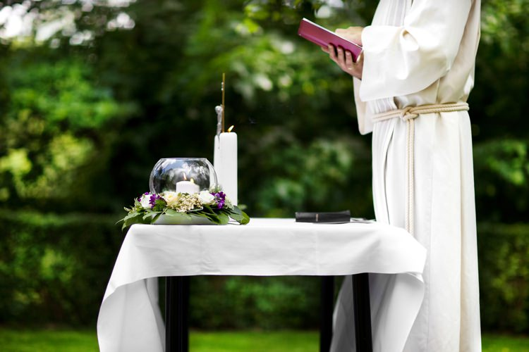 ceremonia zaślibin w plenerze