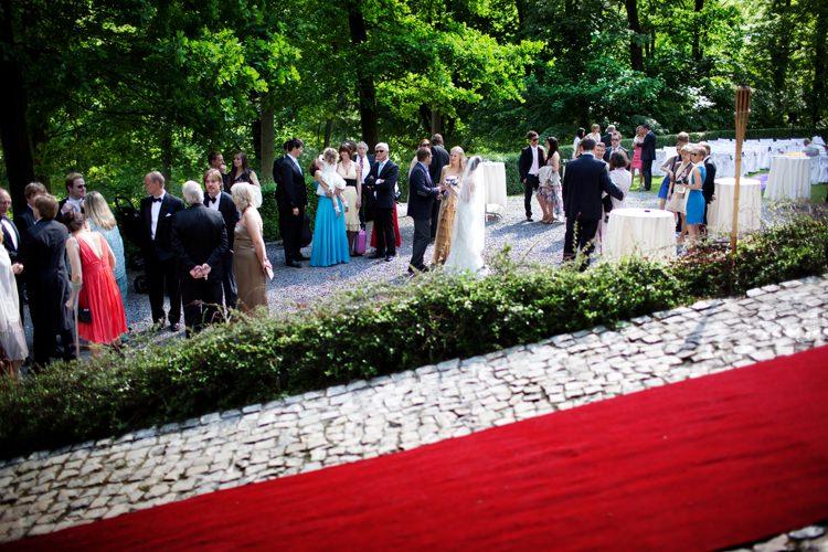 ceremonia zaślubin na zamku
