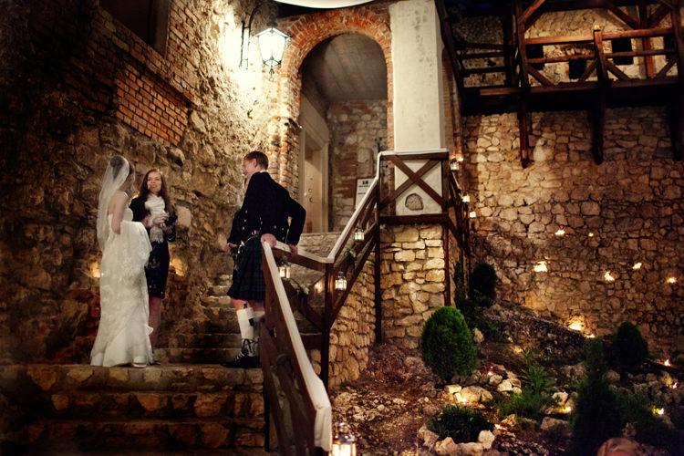 przyjęcie weselne zamek korzkiew