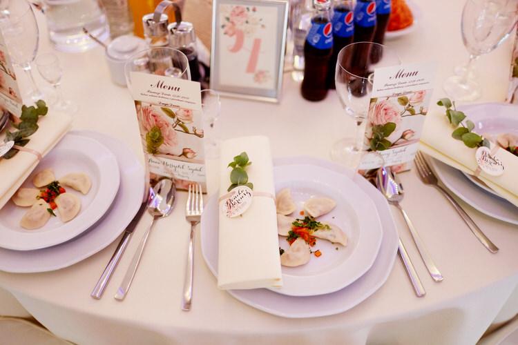 brzozowy dworek menu na wesele