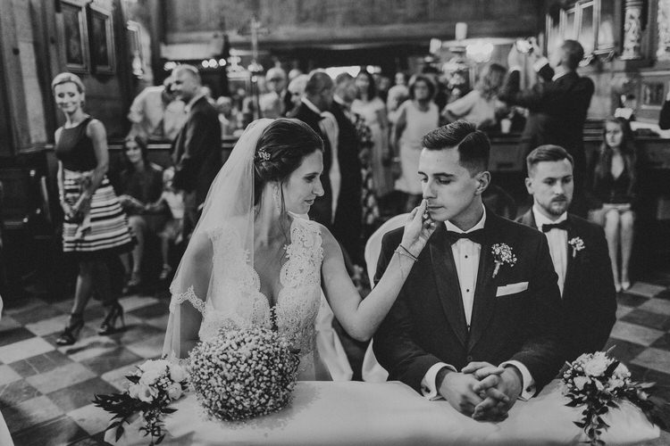 ceremonia zaślubin kościół w dodlnicy