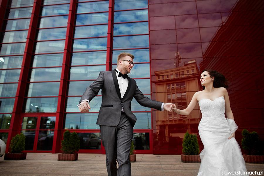 plener ślubny opera krakowska
