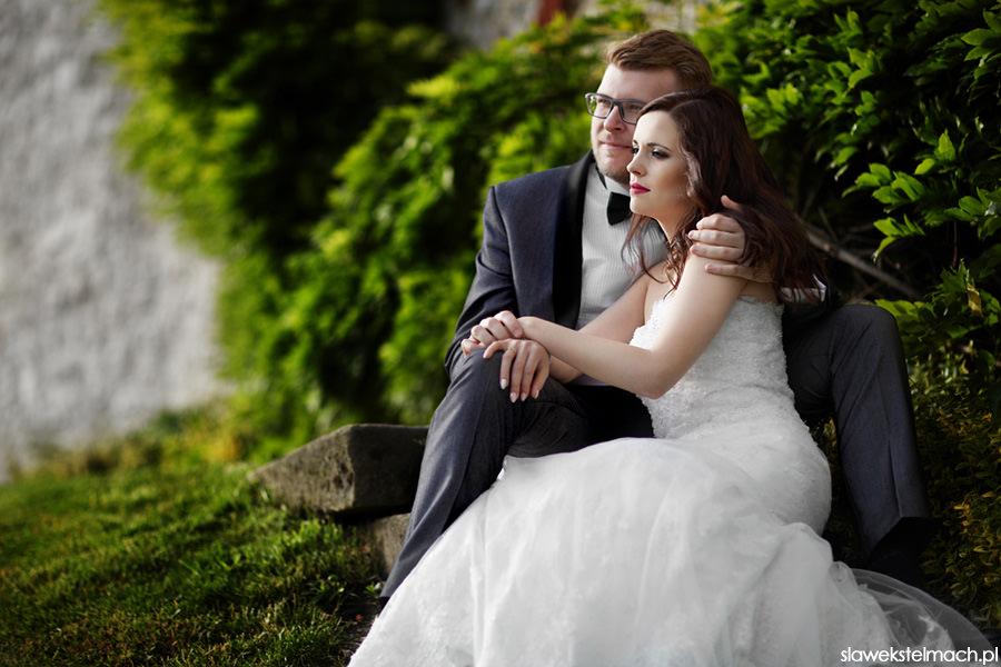 plener ślubny na wawelu