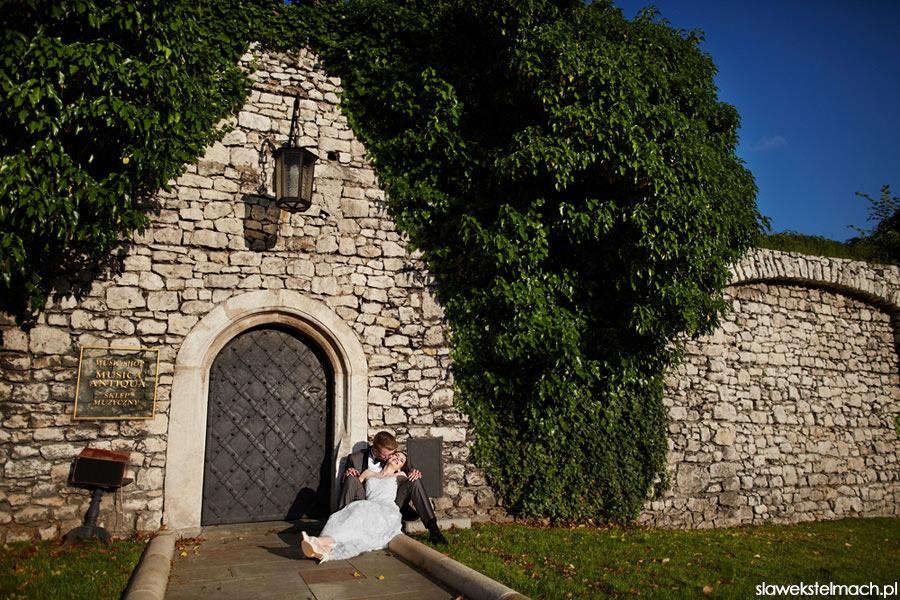 zdjęcia ślubne na wawelu