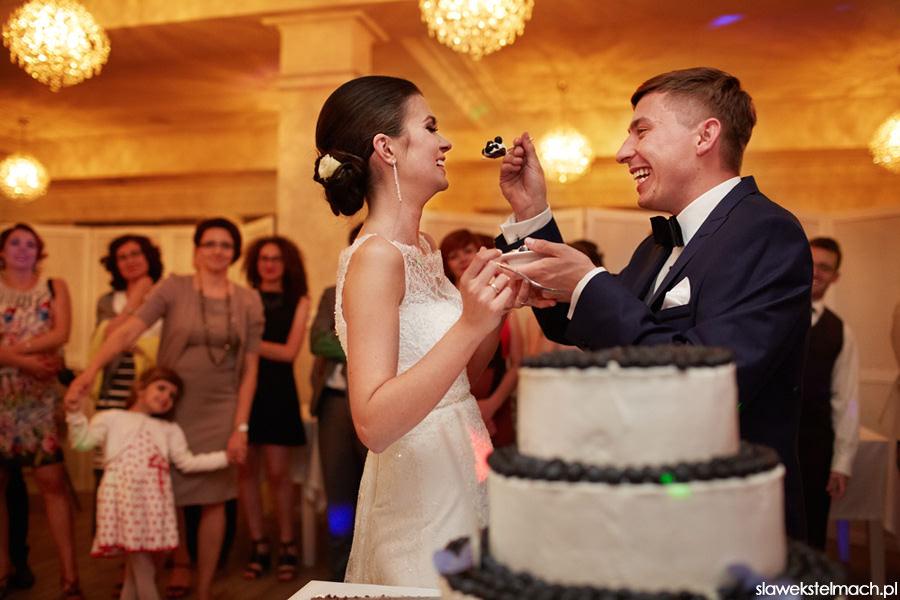 Tort weselny jodłowy dwór 3