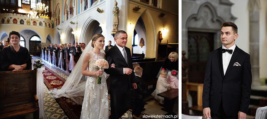 ceremonia zaślubin ciężkowice