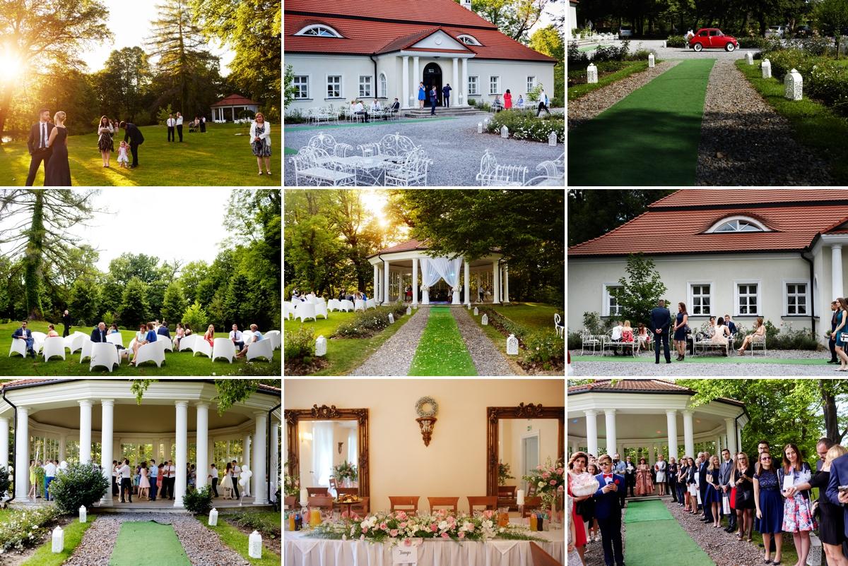 Dwór w Bistuszowej oryginale miejsce na wesele Tarnów