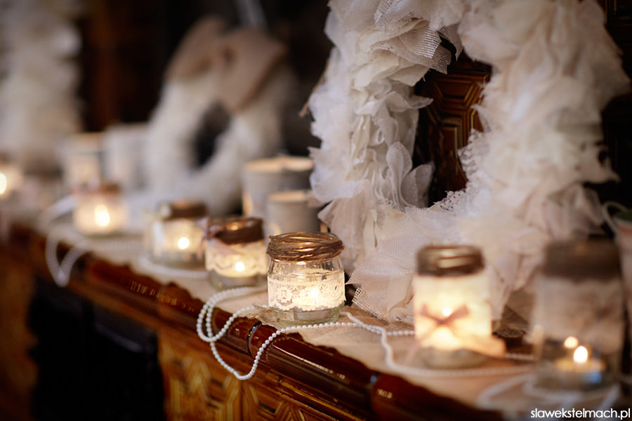 dekoracje do ślubu tarnów