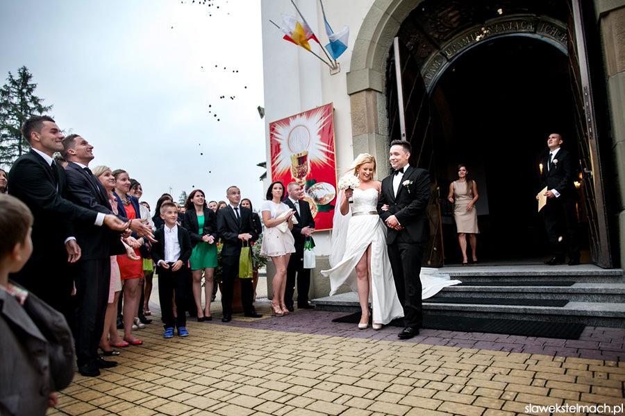 ceremonia zaślubin wojnicz