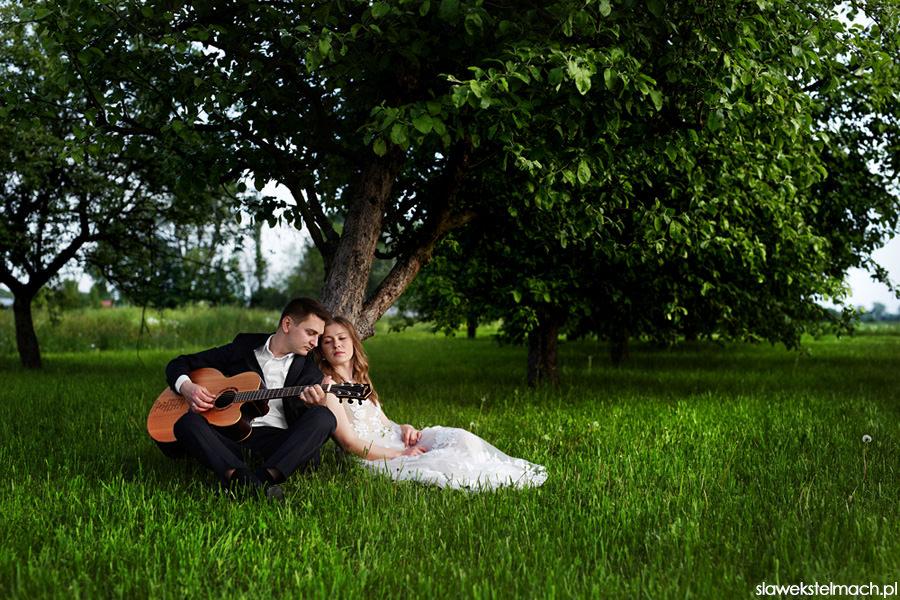 plener śluny z gitarą
