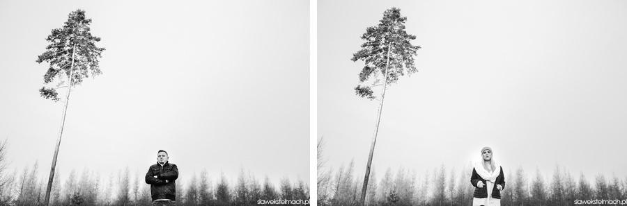 plener w lesie tarnów