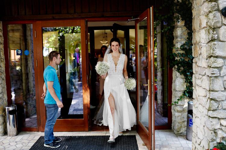 Dwór w Tomaszowicach suknia ślubna