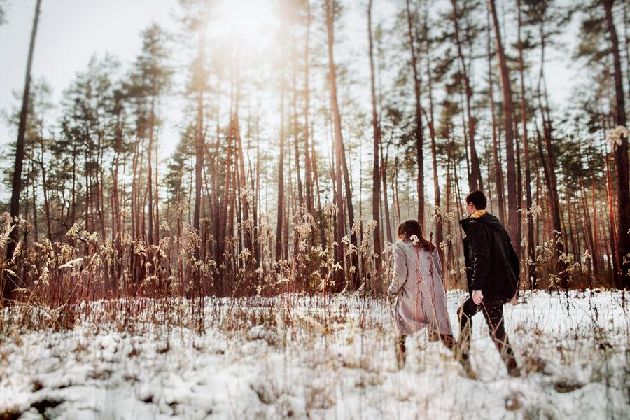spacer po lesie tarnów
