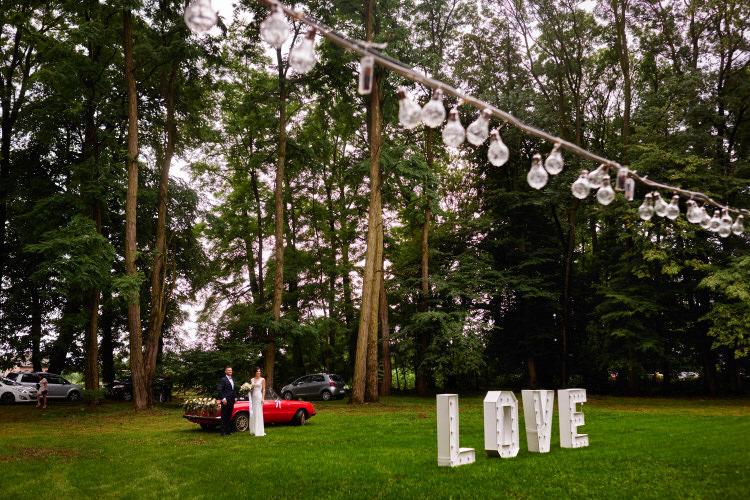 Wesele w plenerze - Imperial Wedding