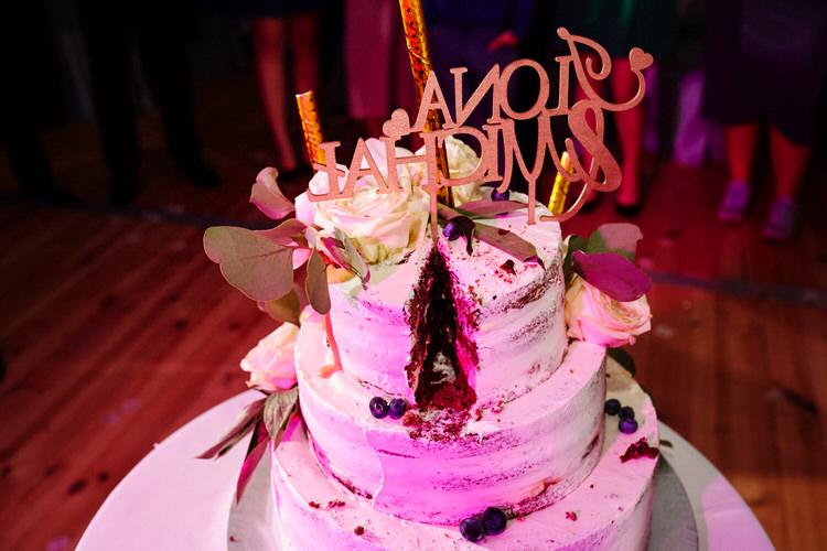 tort weselny - namiot na wesele