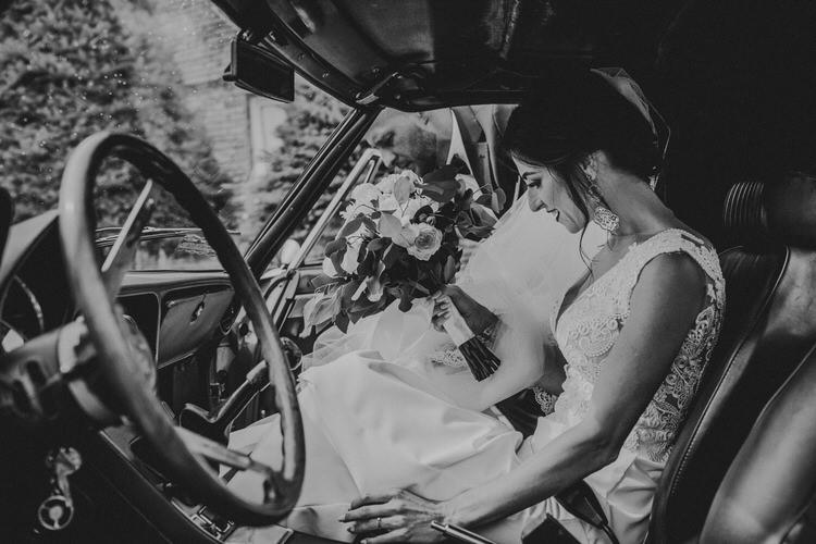 auto do ślubu otfinów