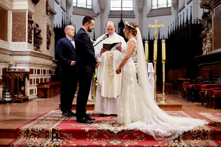 ceremonia zaślubin Katedra Tarnów