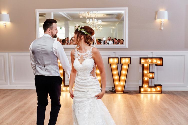biała przystań taniec weselny