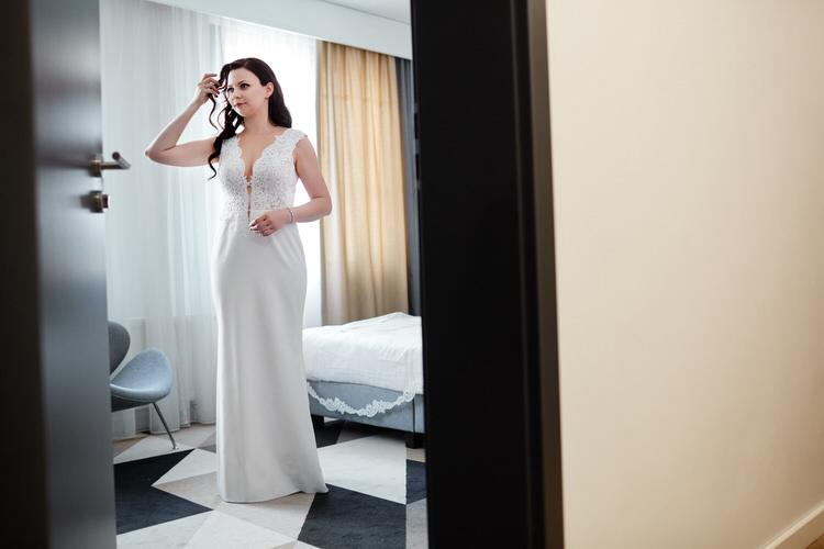 przygotowania do ślubu w hotelu Lwowska 1