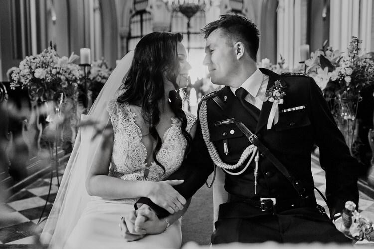 ceremonia zaślubin na Rynku Podgórskim