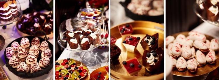 Słodki stół na przyjęciu weselnym Szczawnica