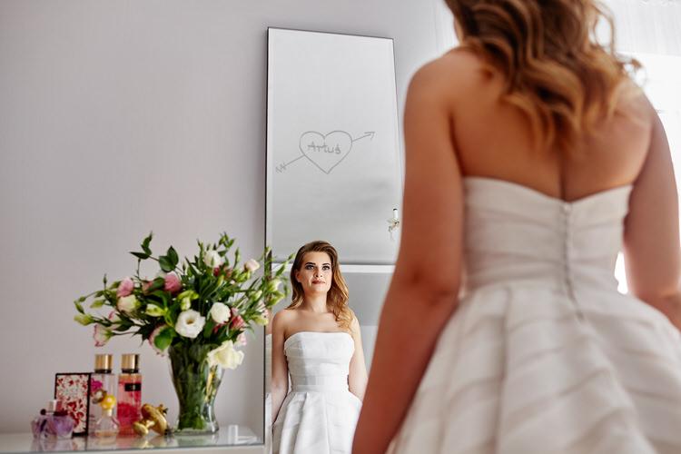piękny ślub przyjęcie weselne Agawa Dębno