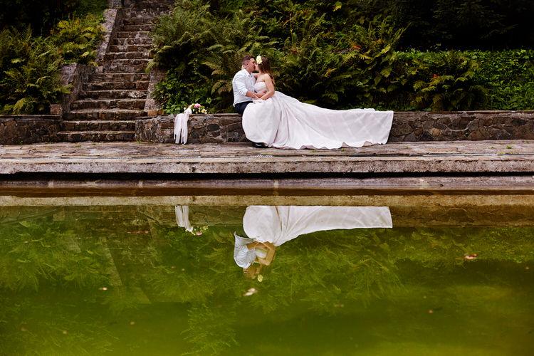 Willa tadeusz plener ślubny
