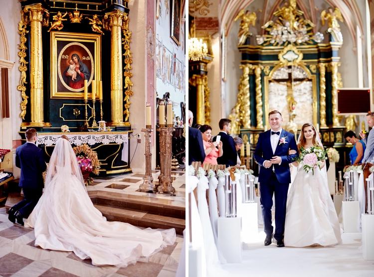 ślub w wojniczu piękny ślub