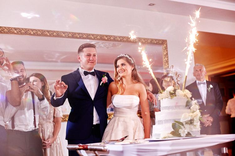 Agawa dębno Tort weselny