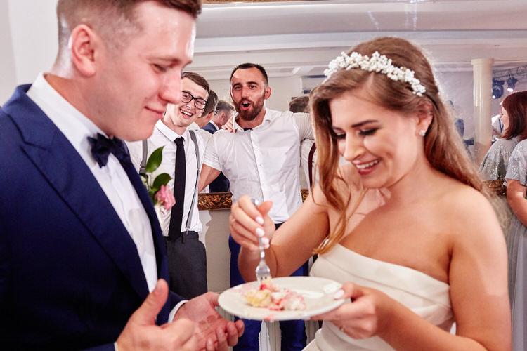 Agawa dębno Tort na wesele