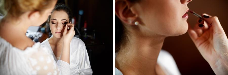 makijaż ślubny kraków witkowa chata