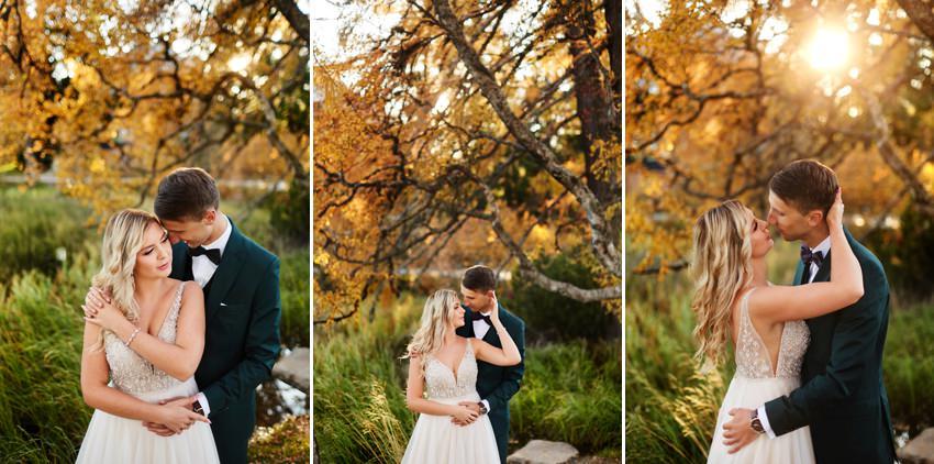 sesja ślubna w dniu ślubu - fotograf ślubny z Tarnowa