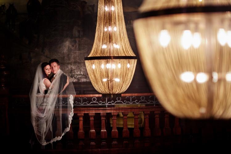 plener ślubny w dniu ślubu - fotograf ślubny z Tarnowa
