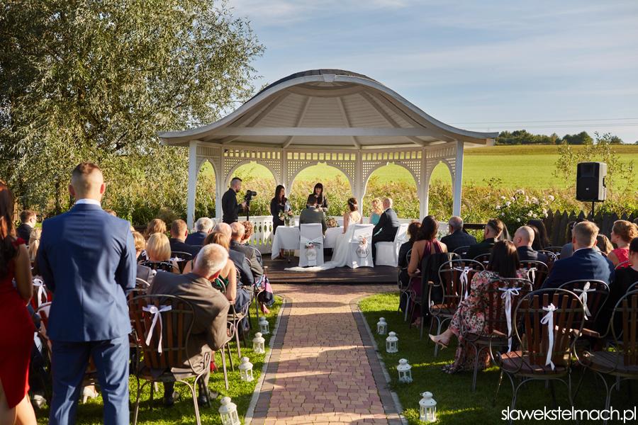 piękny ślub plenerowy w Krakowie Witkowa Chata