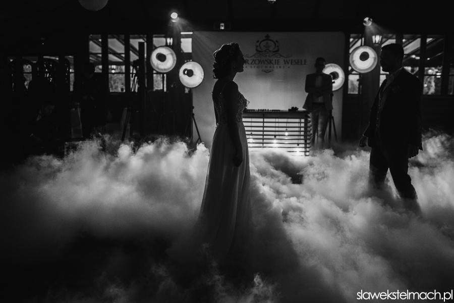 pierwszy taniec w chmuach Witkowa Chata przyjęcie weselne