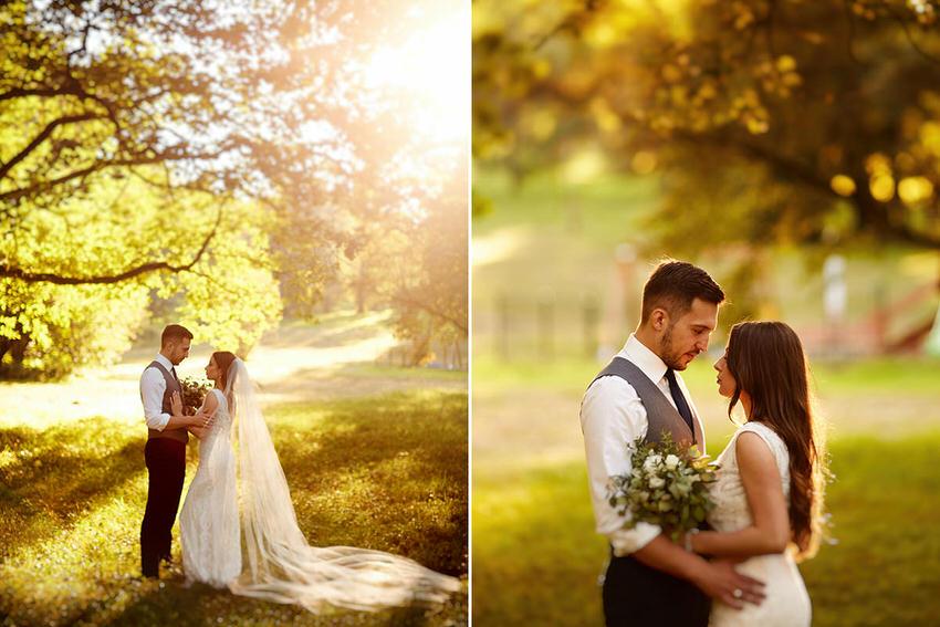 zdjęcia plenerowe w dniu ślubu fotograf tarnów kraków