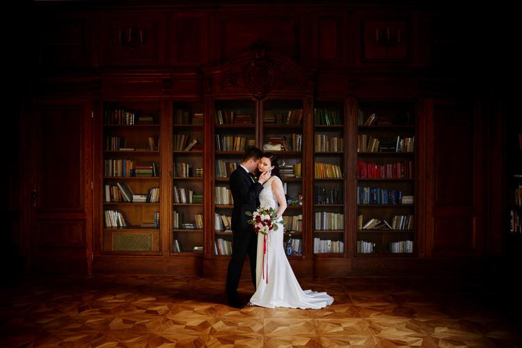 plener ślubny w dniu ślubu - fotograf brzesko
