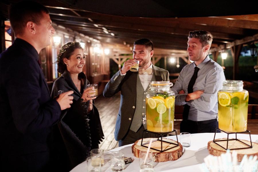 toast przy stołach witkowa chata