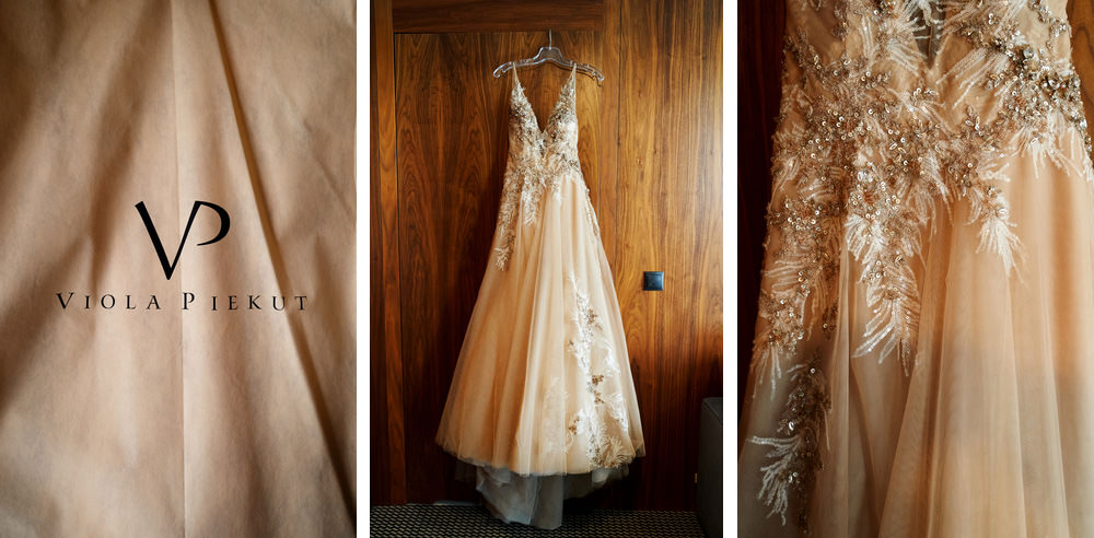 suknia ślubna viola piekut, Piękne wesele nad jeziorem Rożnowskim