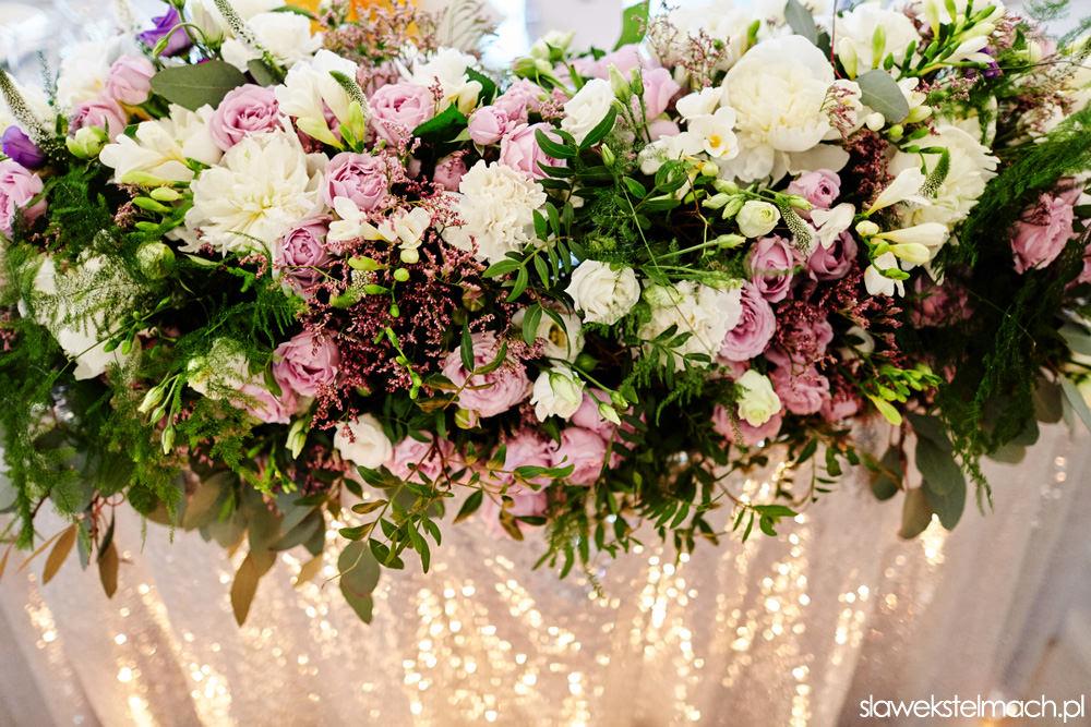 dekoracje weselne Jodłowy Dwór