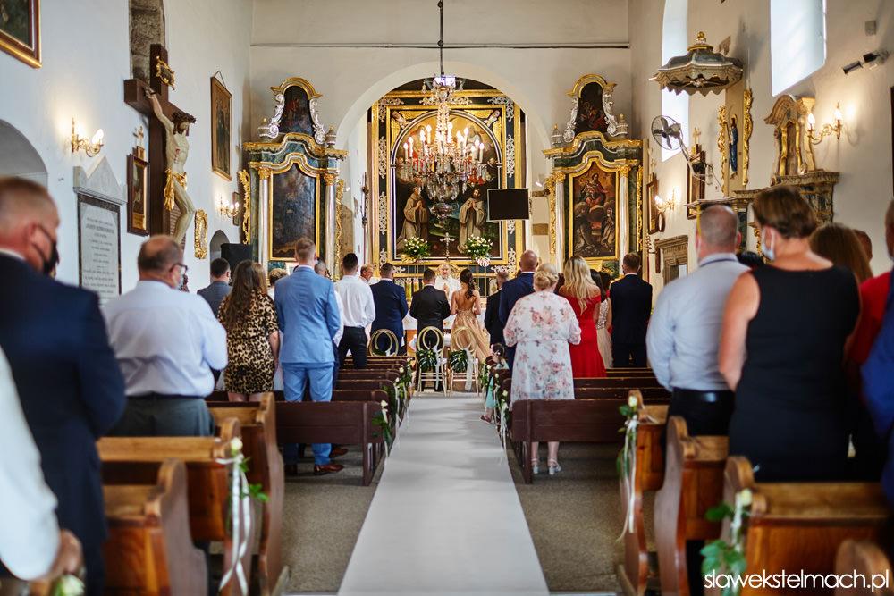 ślub kościelny w Tropiu, wesele heron live hotel