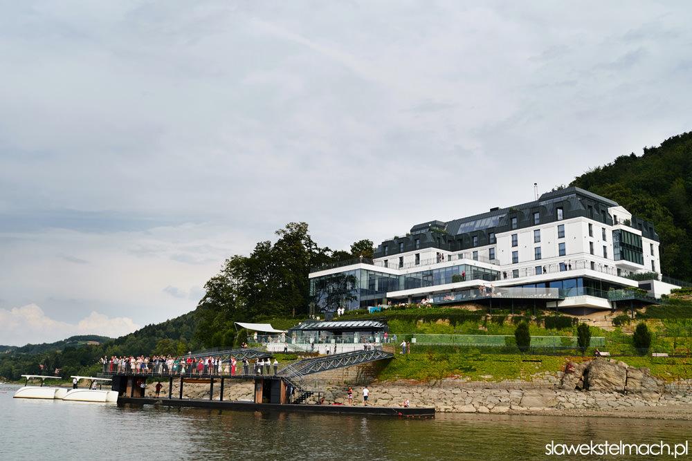Heron Live Hotel nad jeziorem Rożnowskim