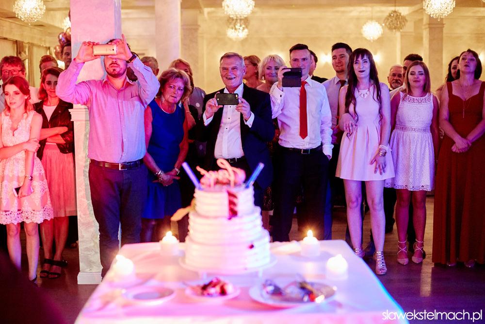jodłowy dwór - tort weselny
